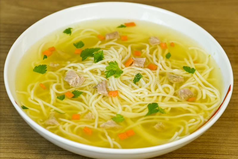 Beef soup royalty free stock images