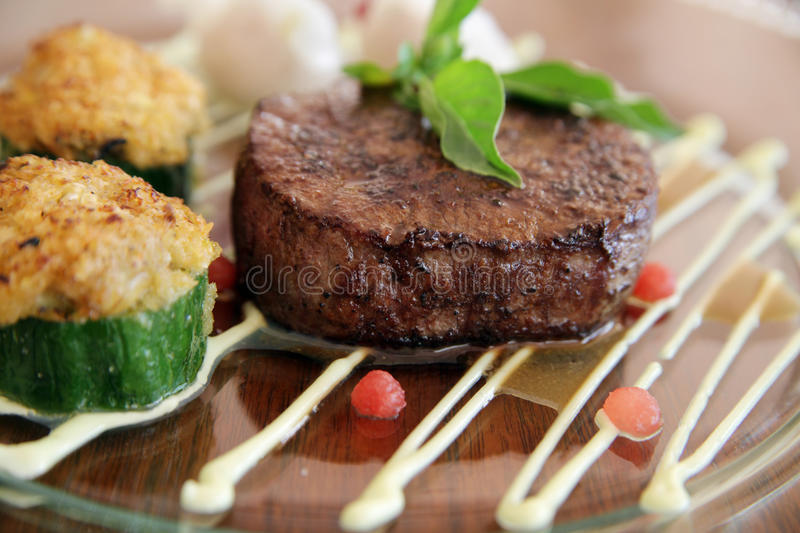 Download Beef steak stock image. Image of angle, high, delicious - 17487817