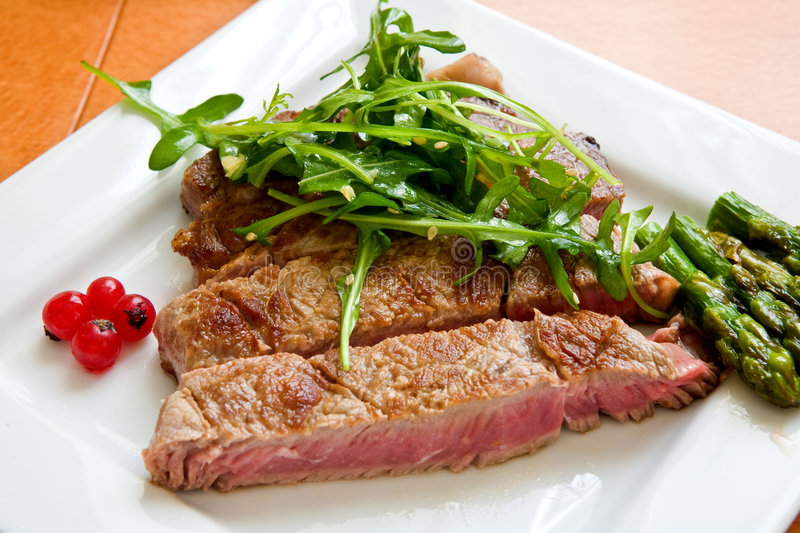 Beef Steak Royalty Free Stock Images