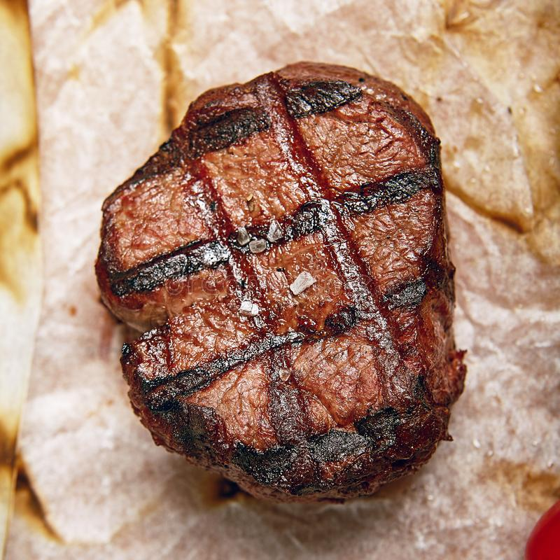 Free Beef Steak Dinner Royalty Free Stock Photography - 101000717