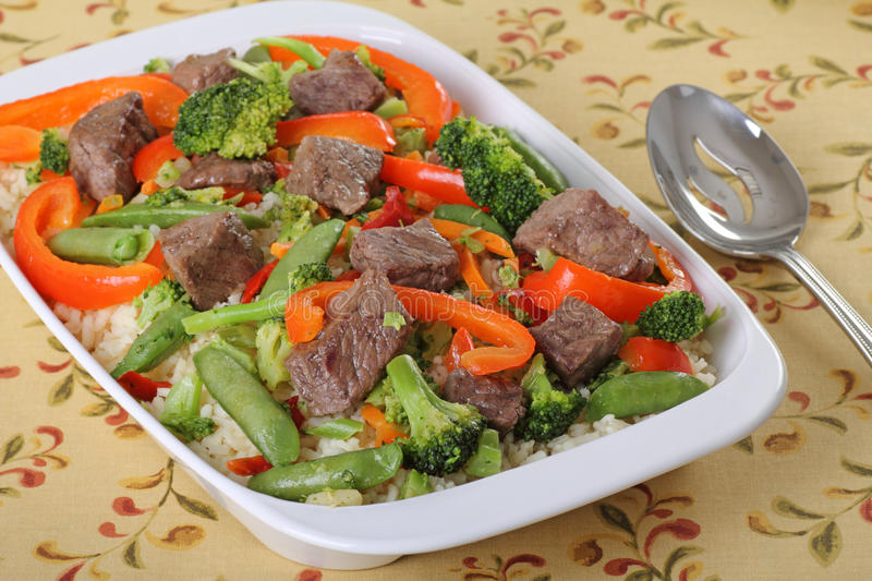 Download Beef Stir Fry stock photo. Image of food, peppers, pepper - 15987244