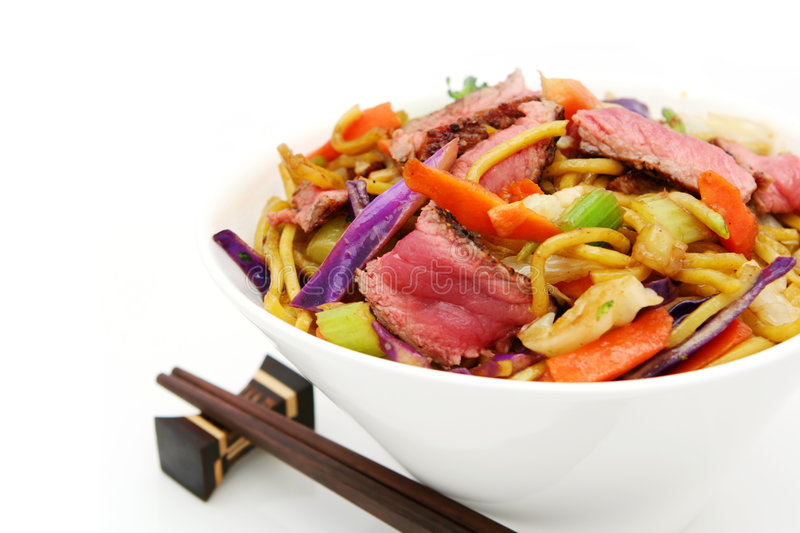 Download Beef Stir Fry stock image. Image of culture, beef, white - 2294039