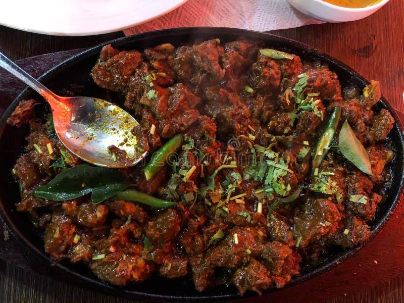 Beef thava tasty kerala dish in malabar side stock photos