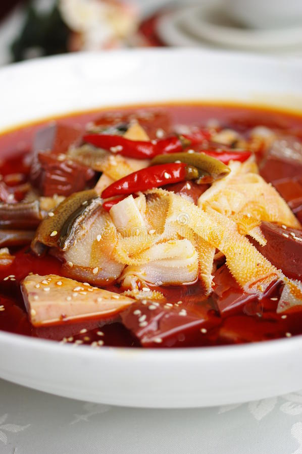 Beef tripe royalty free stock photography