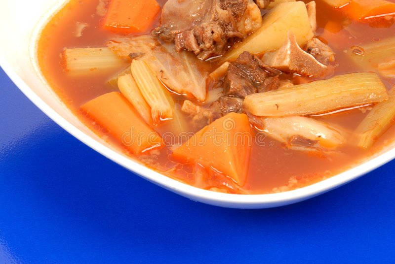 Beef And Vegetable Stew Royalty Free Stock Photo