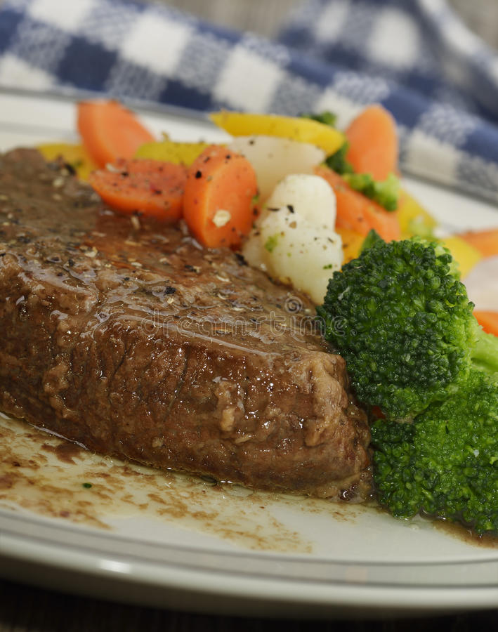 Download Beef With Vegetables stock photo. Image of potato, broccoli - 39508158
