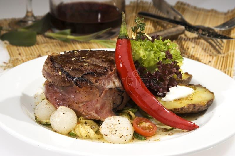 Beefsteak imagens de stock royalty free