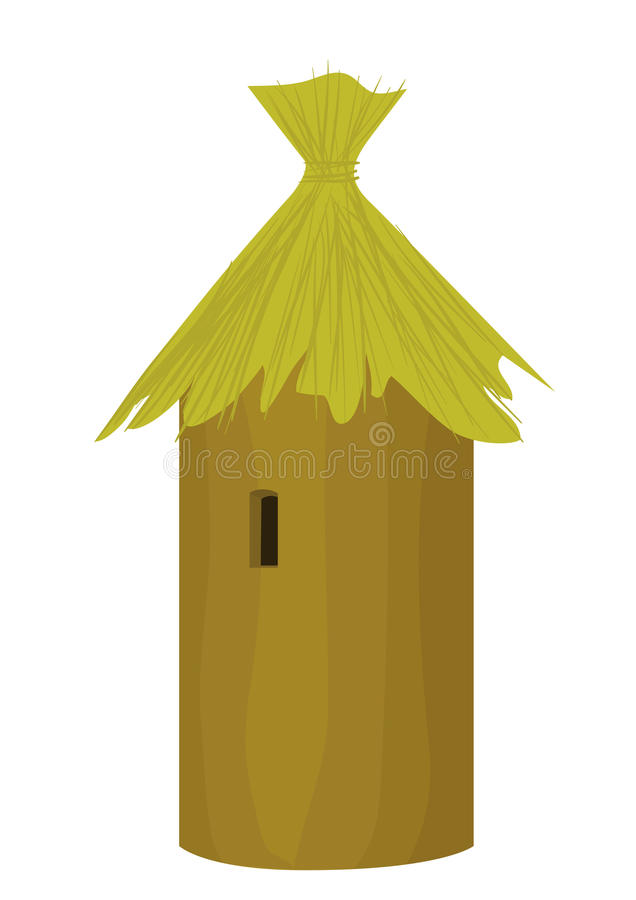 Download Beehive stock vector. Illustration of single, apiary - 19805676