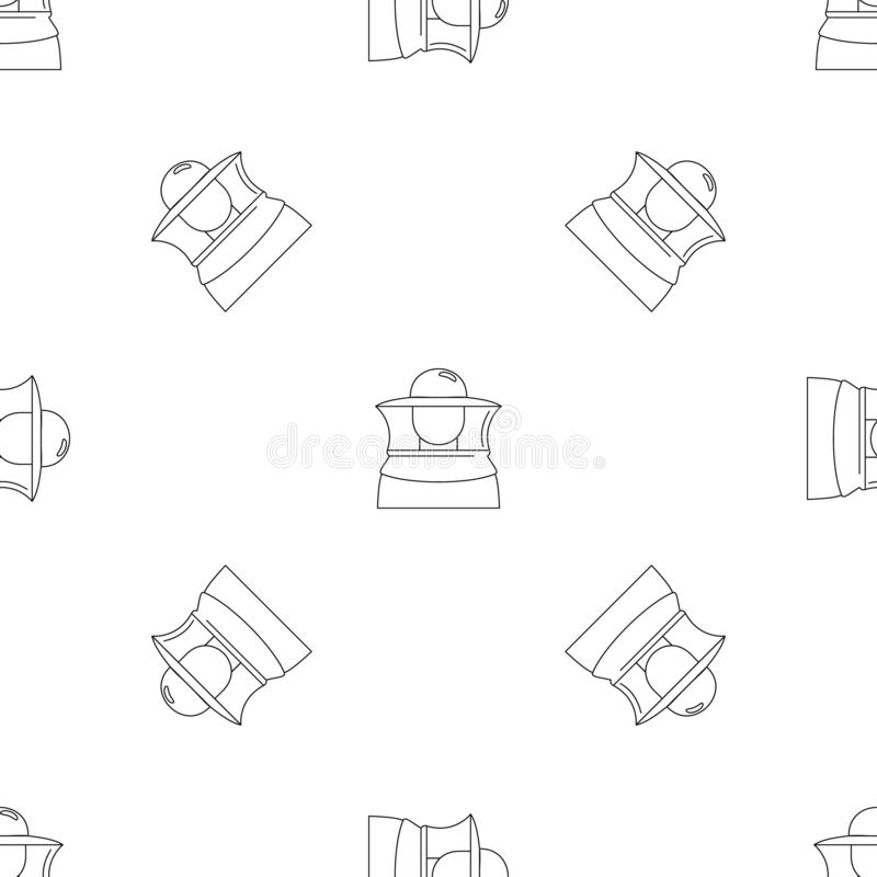 Beekeeper icon, outline style royalty free illustration