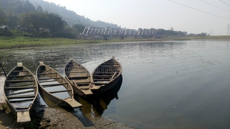 Beel di Deepor nell'Assam fotografie stock
