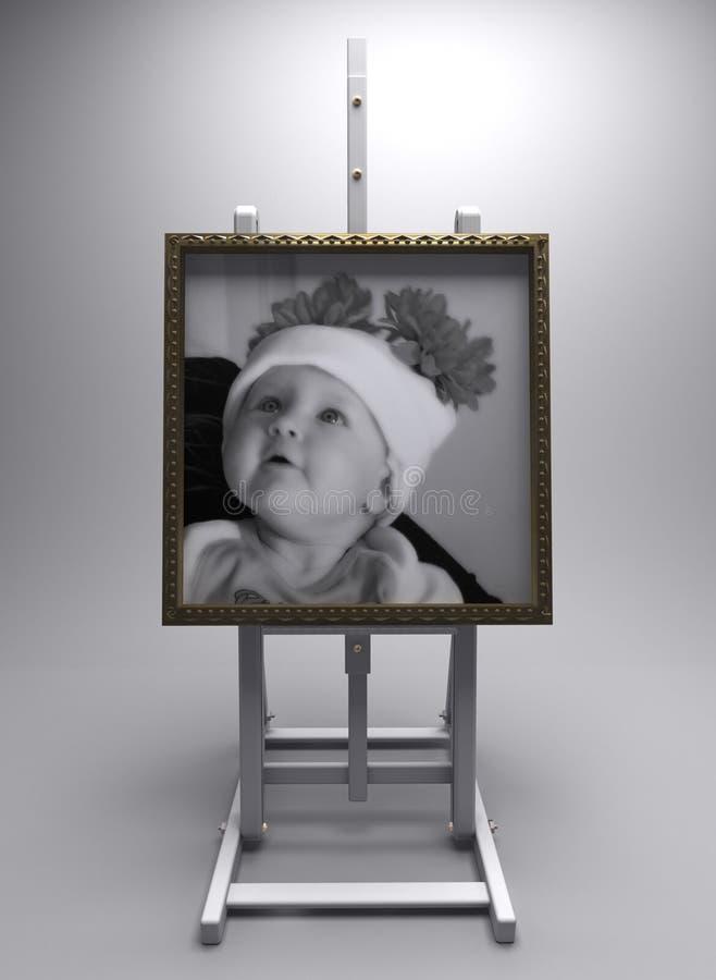 Beeld 2 van de baby royalty-vrije stock fotografie