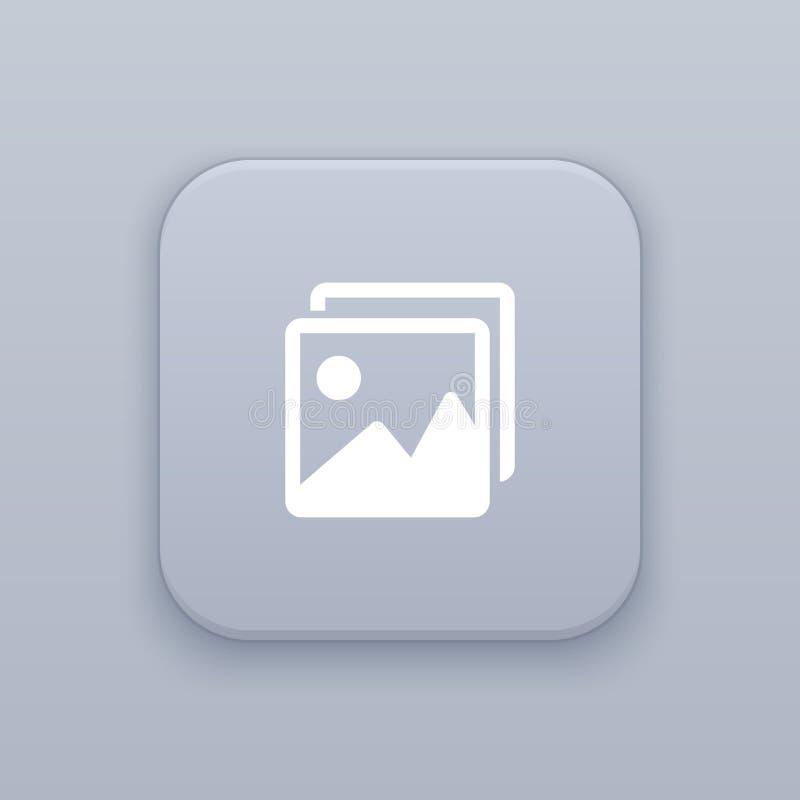 Beeld, fotoknoop, beste vector stock illustratie