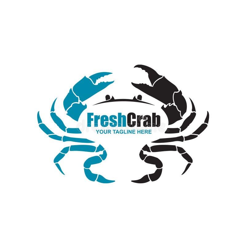 Beeld met krab royalty-vrije illustratie