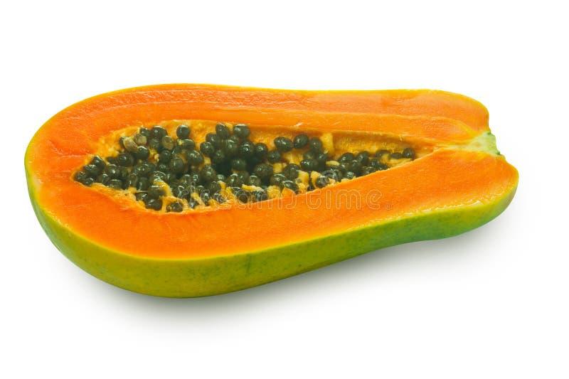 Beeld van de vruchten van de Papaja stock afbeeldingen