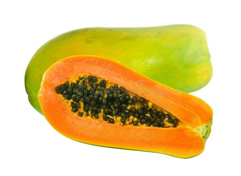 Beeld van de vruchten van de Papaja stock fotografie