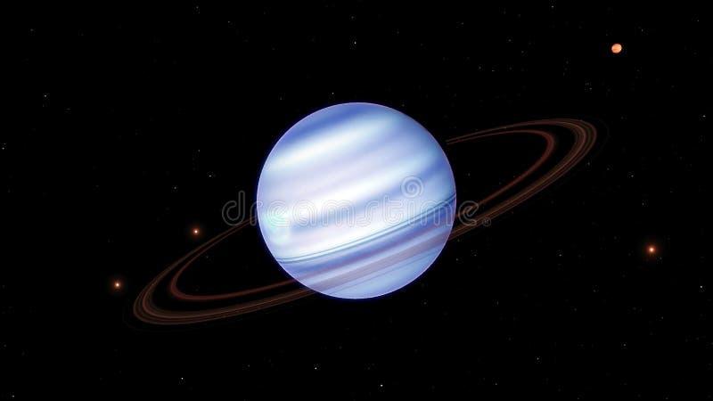 Beeld van fantastisch Jupiter royalty-vrije illustratie