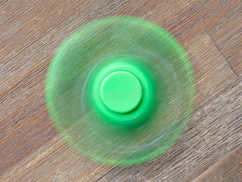 Beeld van Fidget de spanningsstuk speelgoed van de vingerspinner stock afbeelding