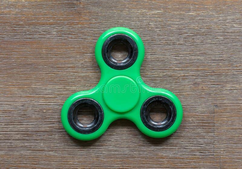 Beeld van Fidget de spanningsstuk speelgoed van de vingerspinner stock foto's