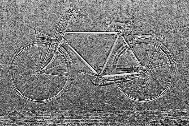 Beeld van fiets abstracte achtergrond stock foto's