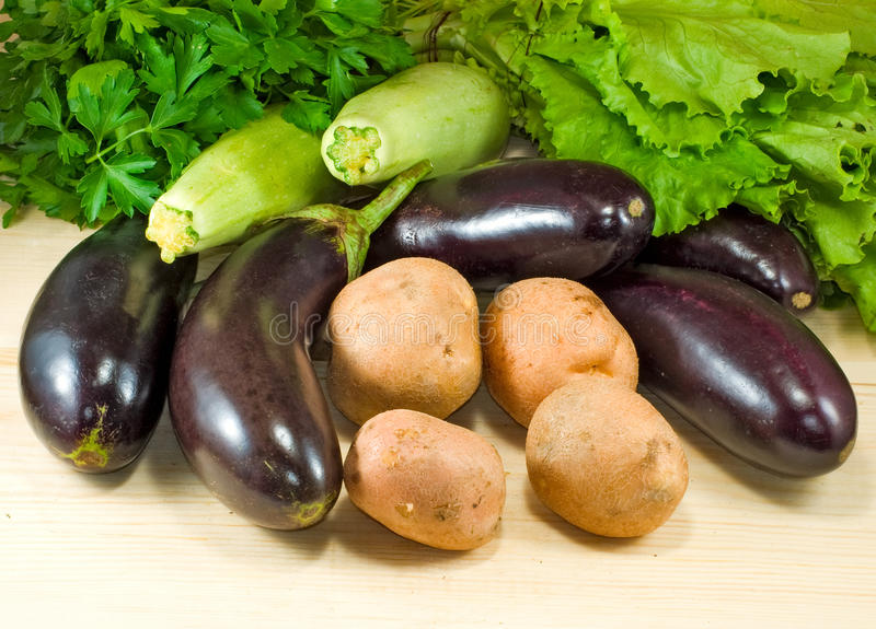 Beeld van groentenclose-up stock foto