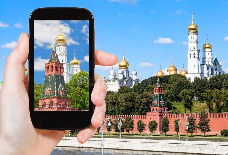 Beeld van Ivan The Great-klokketoren in het Kremlin royalty-vrije stock afbeelding