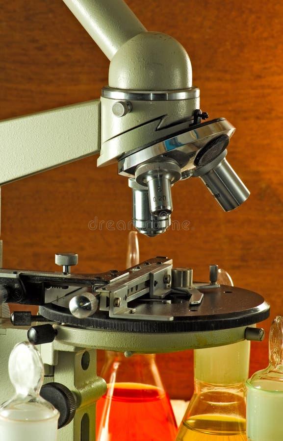 Beeld van microscoop royalty-vrije stock foto's