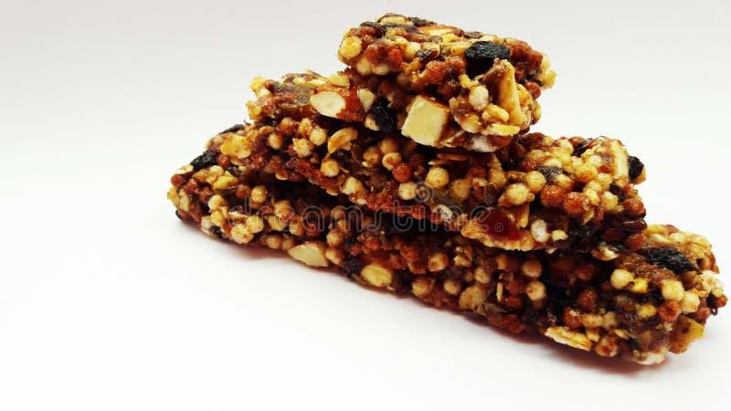 beeld van snacks stock foto