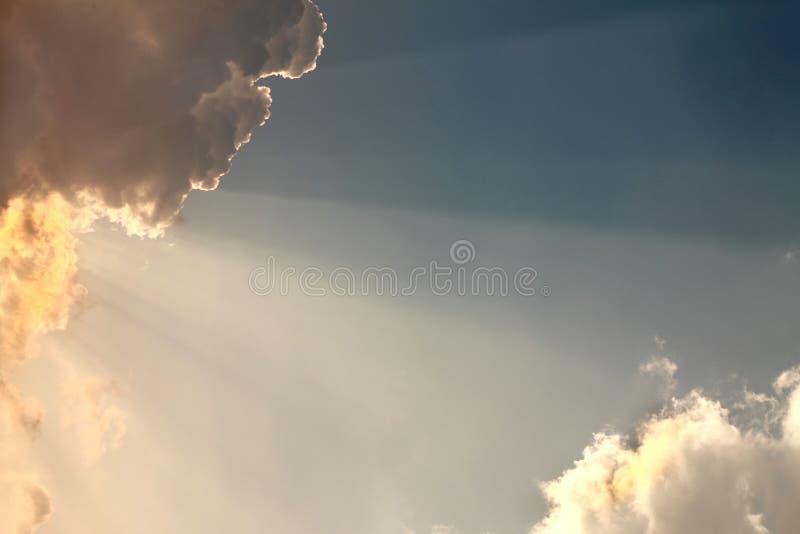 Beeld van wolken stock afbeeldingen