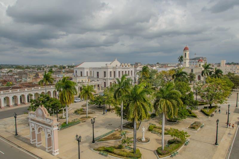 Beelden van Cuba - Cienfuegos royalty-vrije stock foto