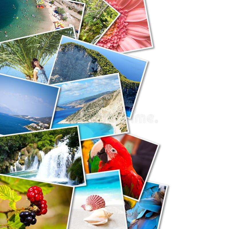 Beelden van vakantie. royalty-vrije stock afbeeldingen