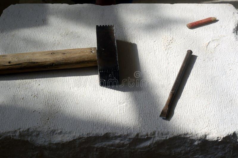 Beeldhouwerhulpmiddel stock foto
