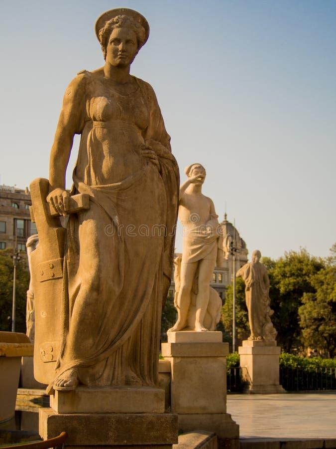 beeldhouwwerk stock afbeeldingen