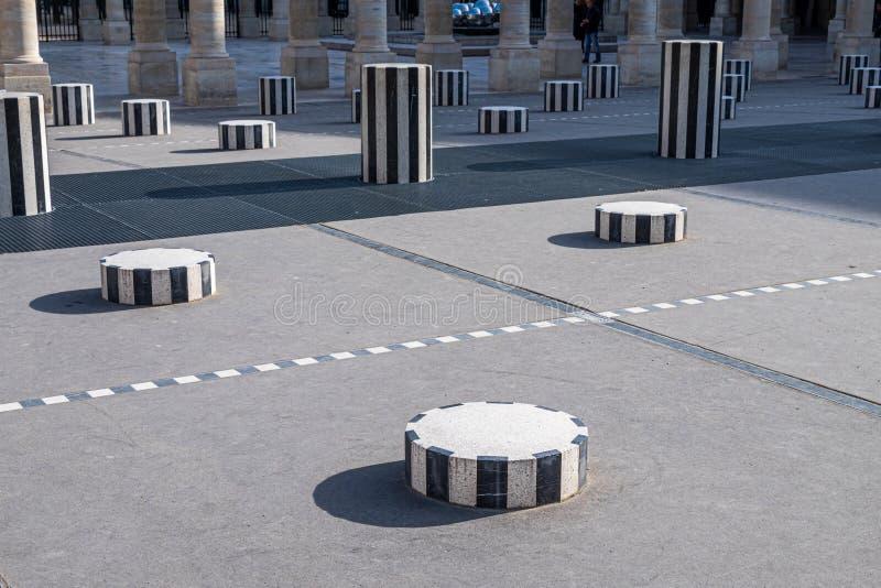 Beeldhouwwerk bij het Palais-Royalpaleis, Parijs, Frankrijk royalty-vrije stock afbeelding