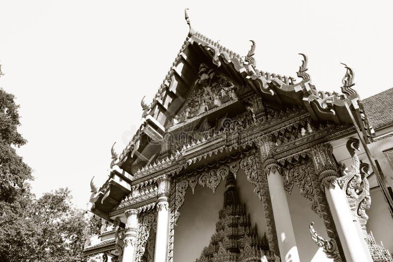 Beeldhouwwerk in Boeddhistisch royalty-vrije stock foto's