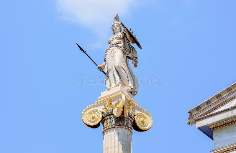 Beeldhouwwerk in Griekenland stock foto