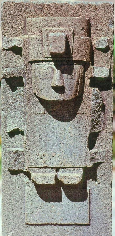 Beeldhouwwerk, La Paz royalty-vrije stock afbeelding