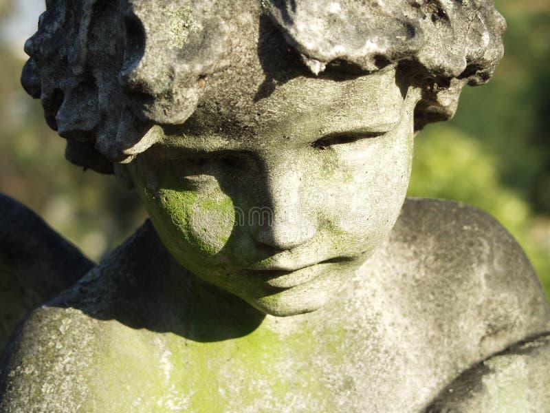 Beeldhouwwerk van Engel royalty-vrije stock afbeeldingen