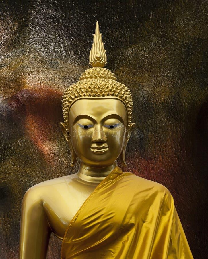 Beeldhouwwerk van Gautama Buddha royalty-vrije stock afbeeldingen