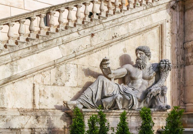 Beeldhouwwerk van Oude Romein royalty-vrije stock afbeelding