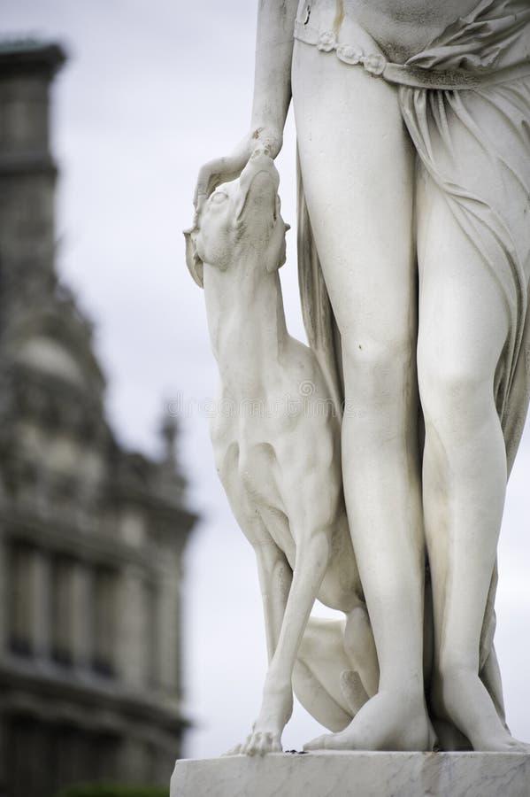 Beeldhouwwerk van Parijs royalty-vrije stock fotografie