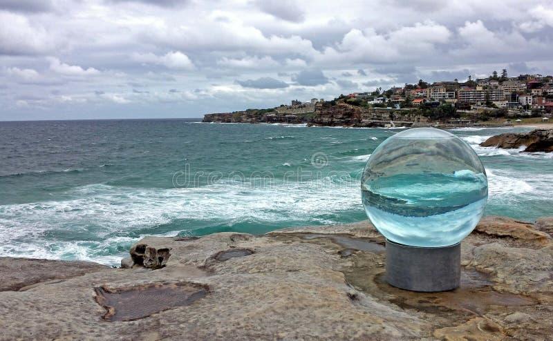 Beeldhouwwerken door het Overzees, Sydney Australia stock fotografie
