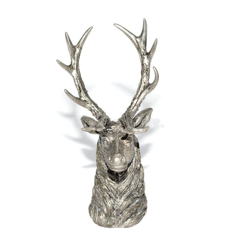 Beeldje van een hert royalty-vrije stock foto's