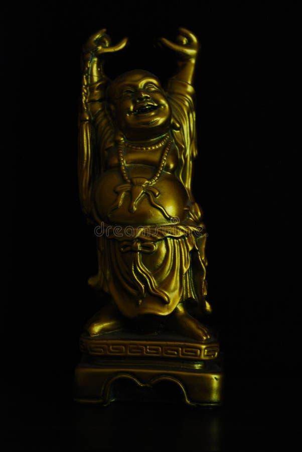 Beeldje van het lachen Budai stock afbeelding
