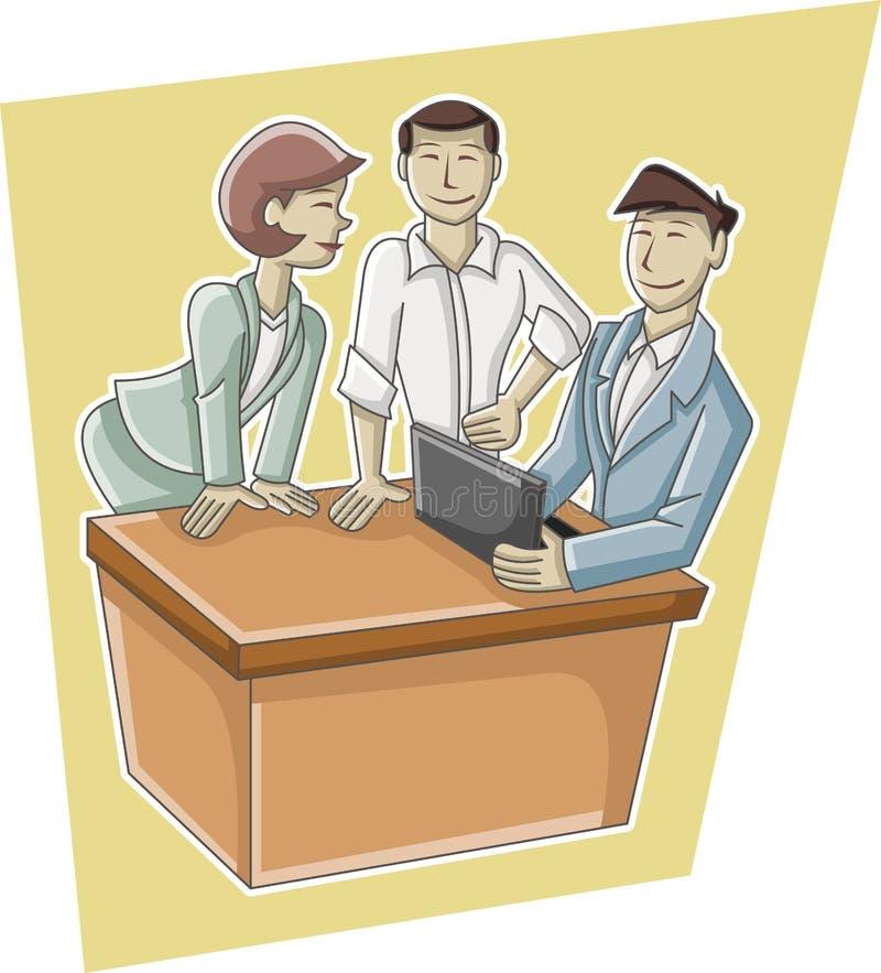 Download Beeldverhaal Bedrijfsmensen Vector Illustratie - Illustratie bestaande uit familie, leuk: 54084750