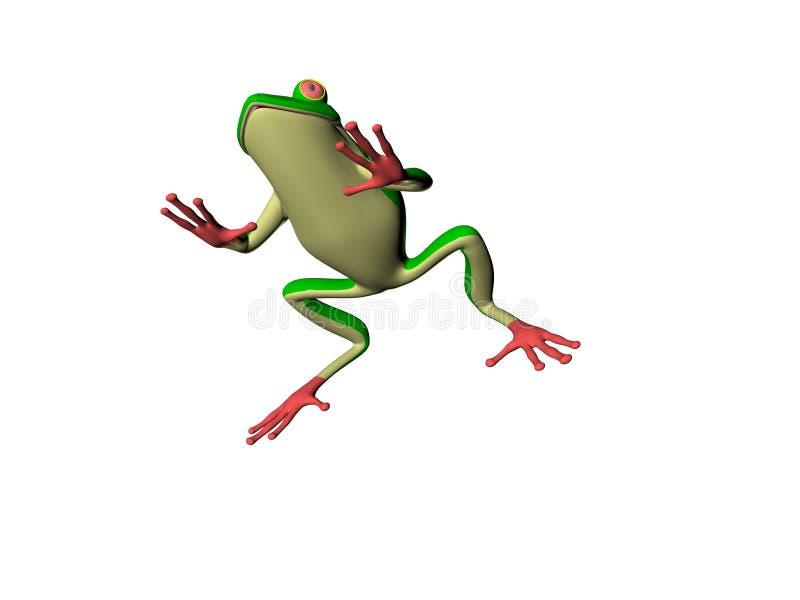 Beeldverhaal Froggy vector illustratie