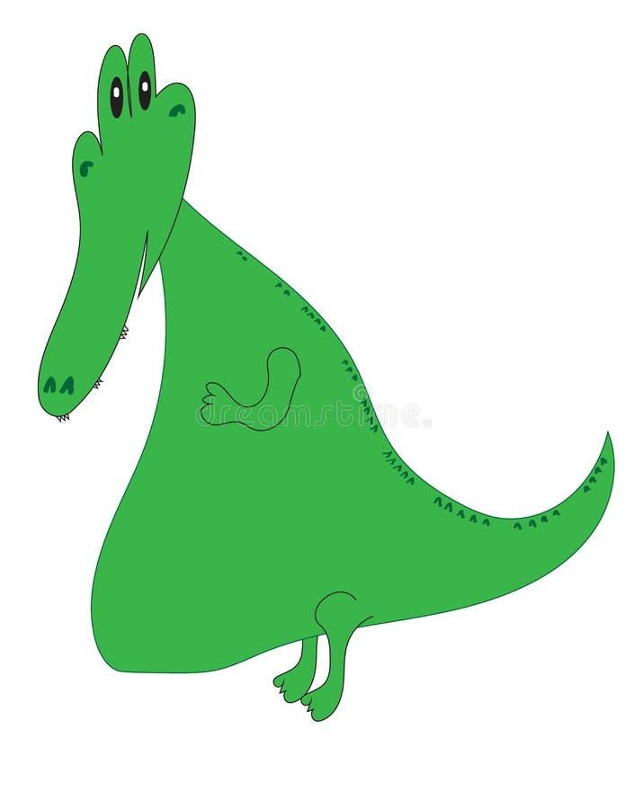 Beeldverhaal Gator vector illustratie