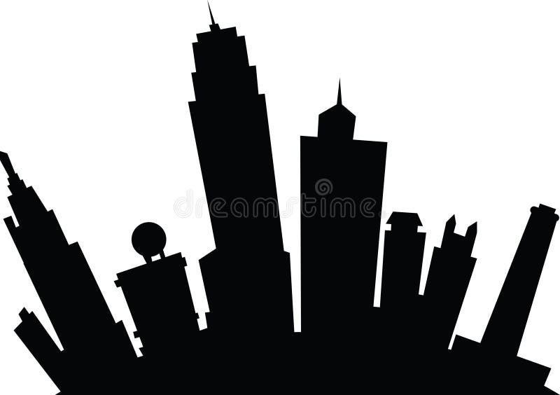 Beeldverhaal Kansas City vector illustratie