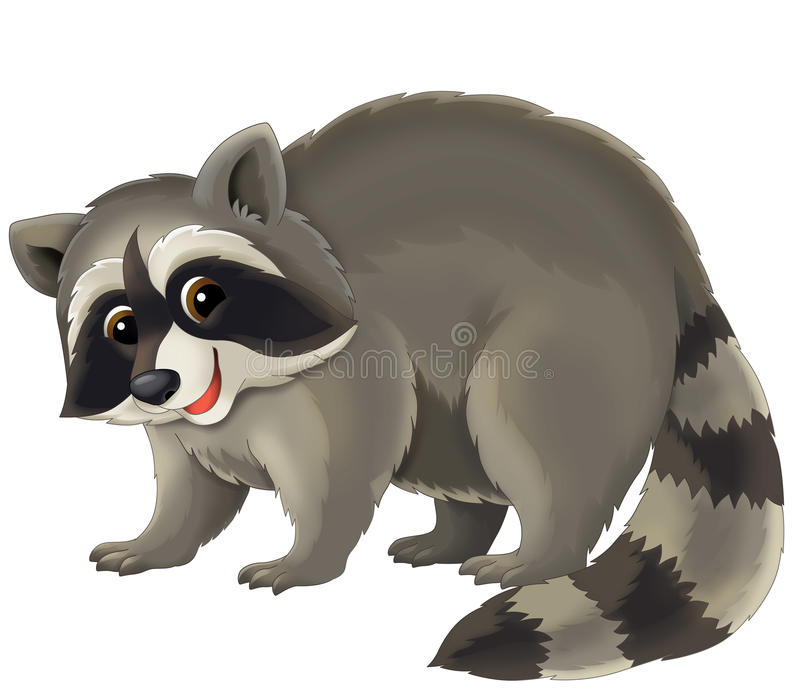 Beeldverhaaldier - illustratie voor de kinderen royalty-vrije illustratie