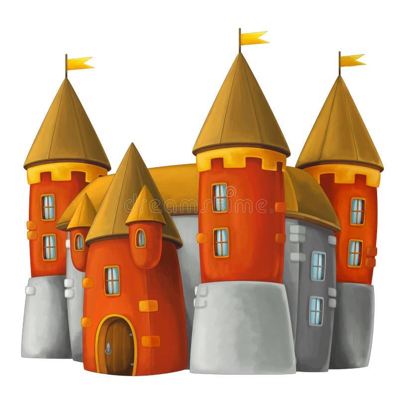 Beeldverhaalkasteel - royalty-vrije illustratie