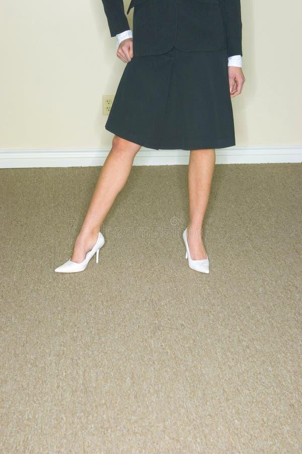 Been-zaken Vrouw stock fotografie